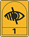 VISUALLY IMPAIRED AND BLIND PEOPLE 1 - If you have difficulty reading small print, are registered blind, have poor sight or a visual impairment, accommodation with this logo is suitable for you.