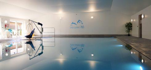 Wallops Wood indoor Swimming Pool
