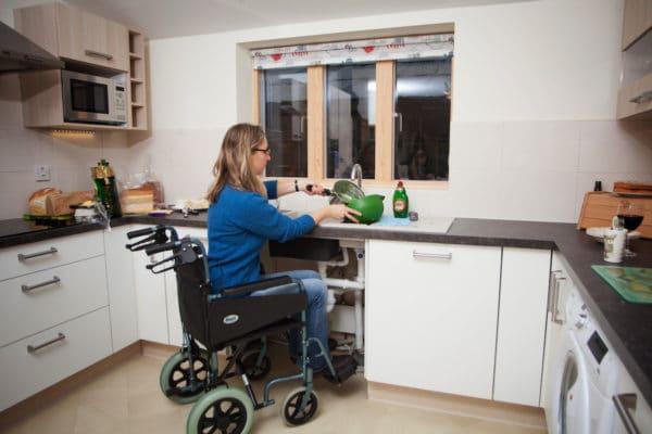 Accessible Kitchen at Wallops Wood