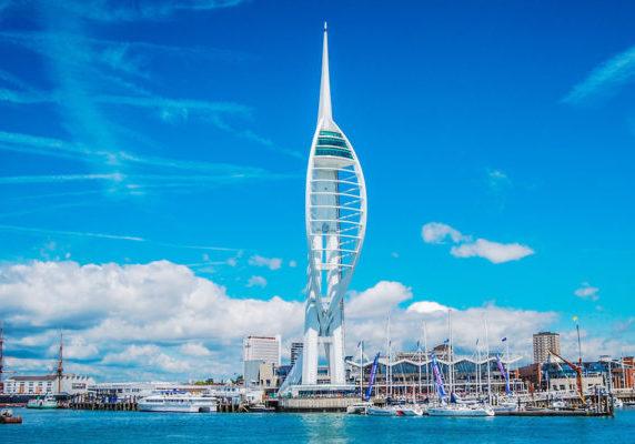 Spinnaker Tower in Portsmouth